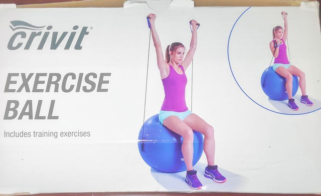 Duża piłka do ćwiczeń fitness
