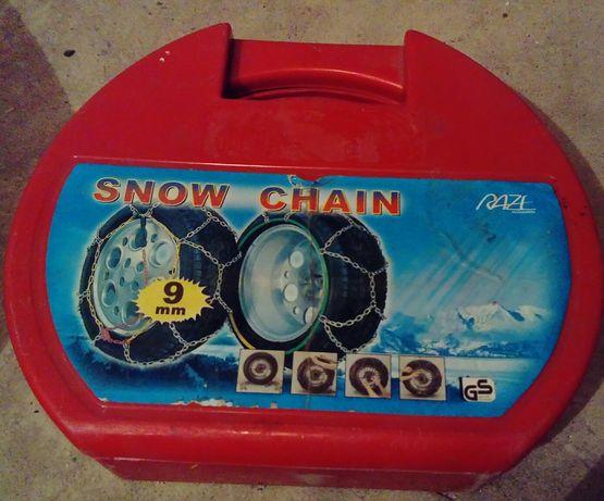 Łańcuchy na koła śniegowe 9mm