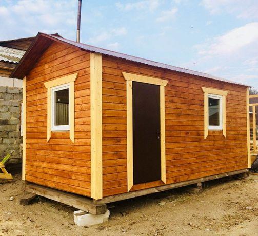 Бытовки битовки домики будиночки вагончики вагончик з дерева дерев'яні