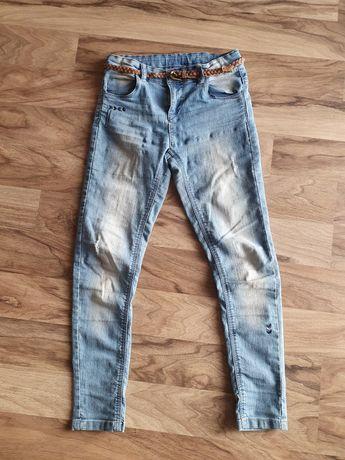 Jeansy dla dziewczynki, rozmiar 140,  Cool Club