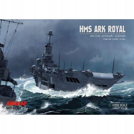 Angraf nr 122 - Lotniskowiec HMS Ark Royal 1:200