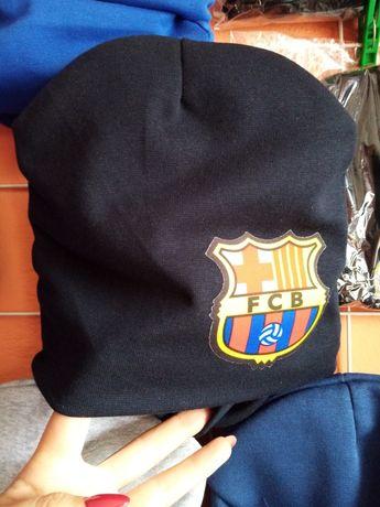 Комплект шапка та снуд