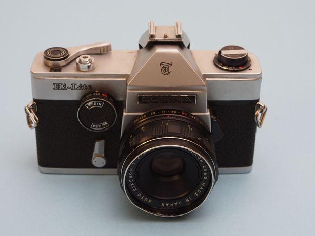 Cosina Hi-Lite com 55mm máquina vintage mecãnica Rosca M42