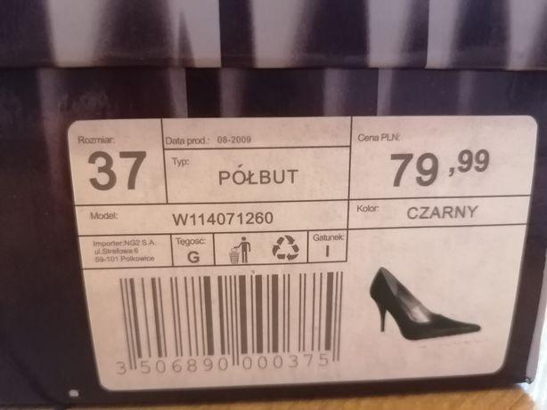 NOWE Półbuty szpilki Jennifer rozmiar 37