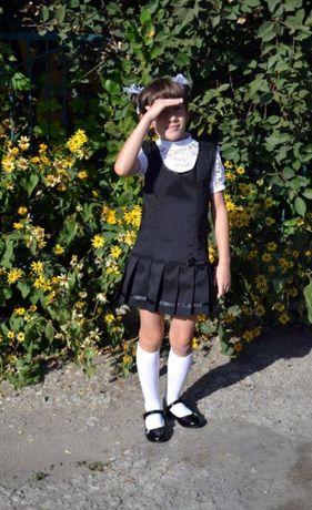 Школьный сарафан рост 125-128 см