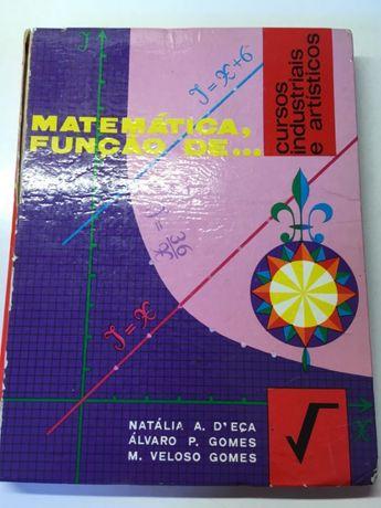 Livro - Matemática, Função de...