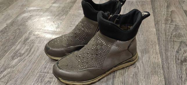 Деми ботинки для девочки 34 р