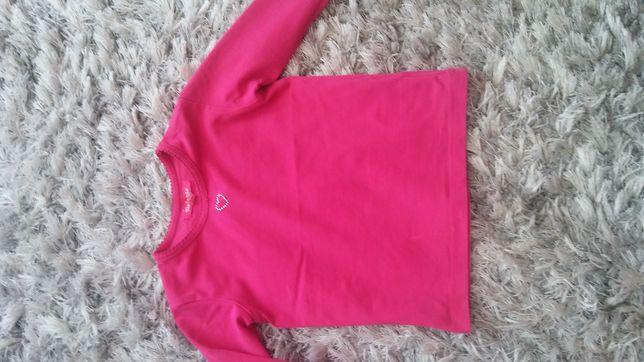 Bluzeczka-ciemny roz