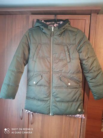 Куртка осінньо-зимова двохстороння