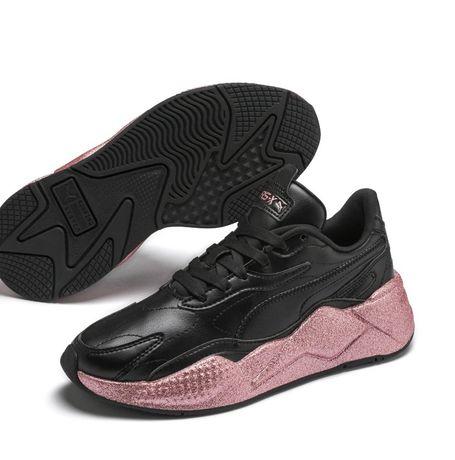 ОРИГИНАЛ женские кроссовки сникеры Puma блестящие