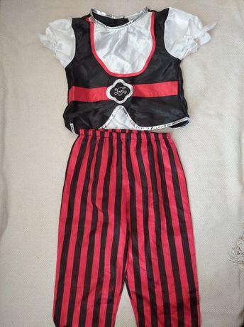 Костюм пират 110-116 рост возраст 5-6 лет костюм карнавальный
