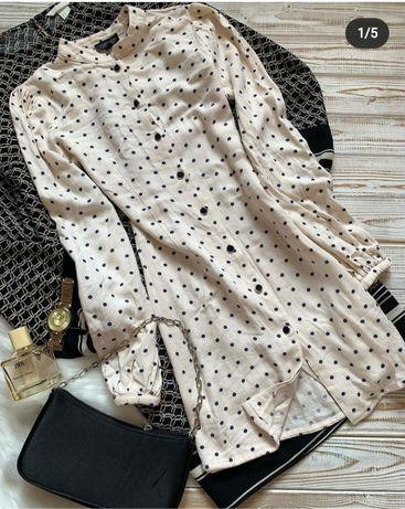 Платье рубашка 40-42 размер