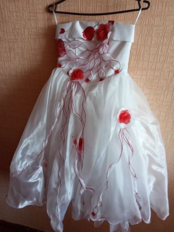 Детское пышное платье
