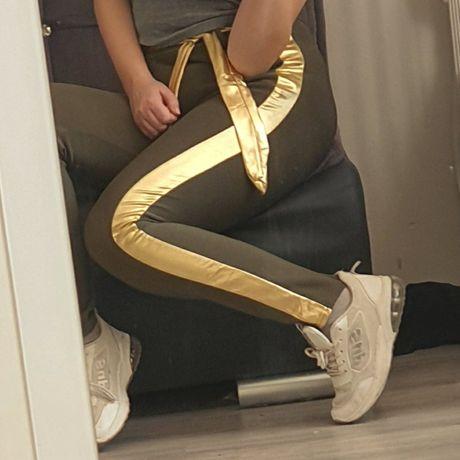 Spodnie z lampasem