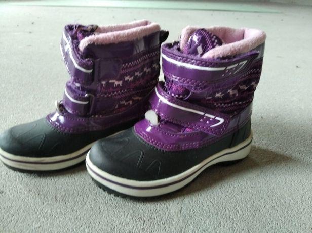 Buty zimowe dla dzieci rozmiar 26