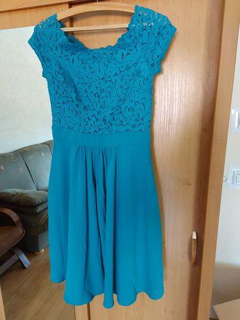 Sukienka turkusowa rozmiar 36
