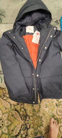 Абсолютно новая куртка для мальчика подростка (11-13лет) . Размер S