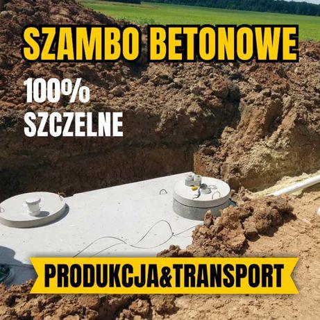 Zbiornik betonowy Szambo betonowe Szamba Deszczówka Producent 100%