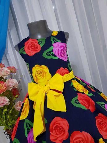 Ретро стиль стиляги выпускной пышное нарядное платье сукня плаття