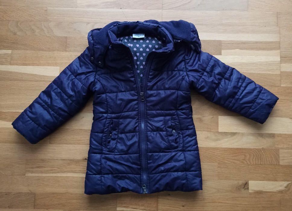 Lekka kurtka zimowa dla dziewczynki 104 cm Kraków - image 1