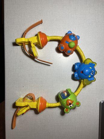 Chico игрушка на коляску «Танцующие животные»