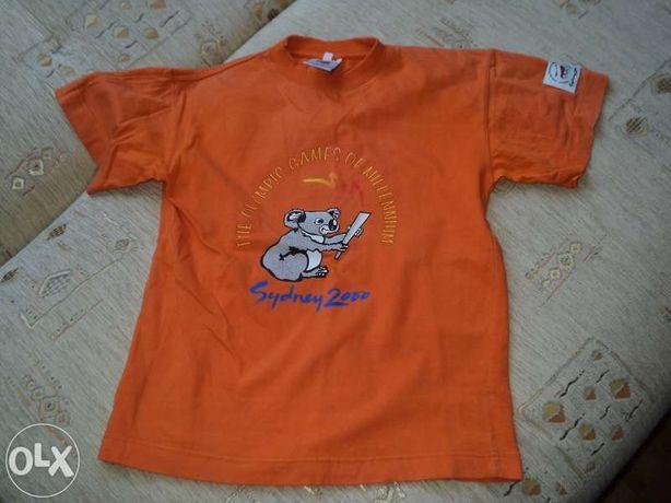 bluzka pomarańczowa/ T-shirt roz. 140
