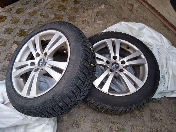 Felgi z oponami zimowymi 215:55:17 Opel Insignia BMW