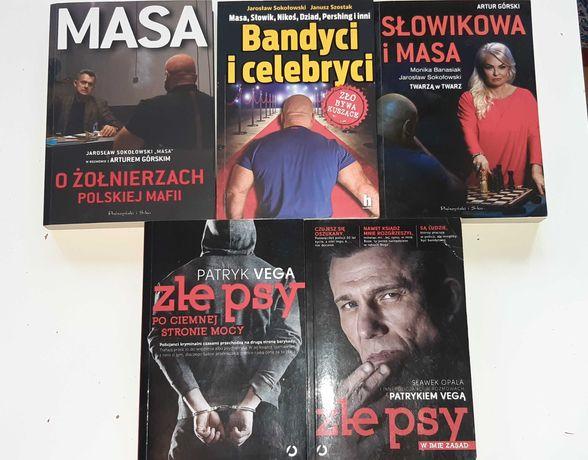 Polskie książki kryminalne seria Masa