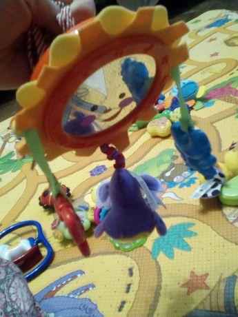 Подвеска,музыкальная игрушка в каляску фишер прайс,Fisher price