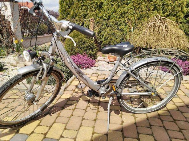 rower aluminiowy 24