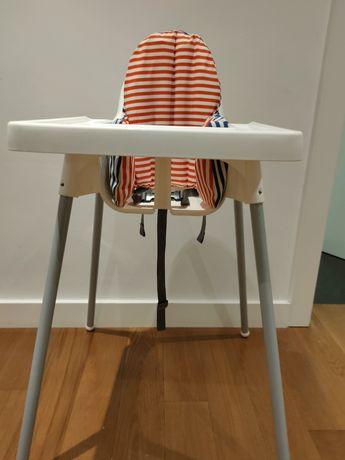 Cadeira de bebé Ikea com almofada