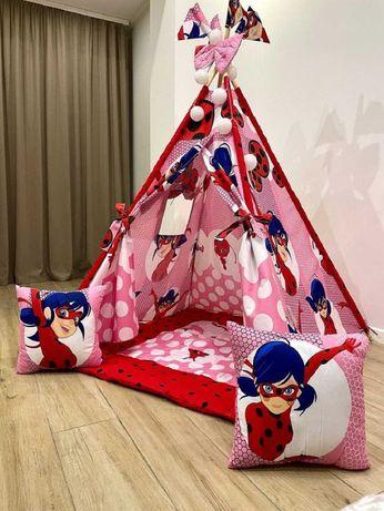 Вигвам детский Палатка игровая для девочки халабуда