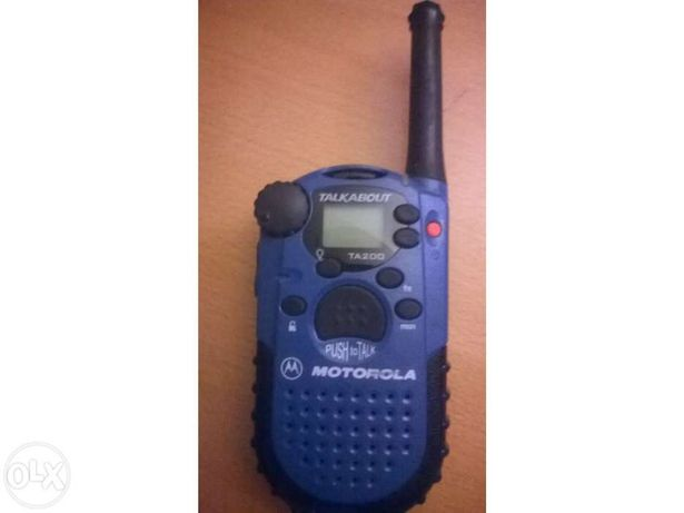 Rádio TA 200 Motorola