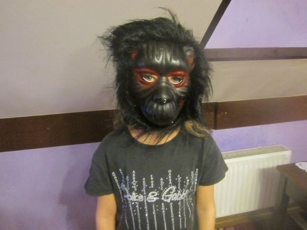 maska małpa goryl