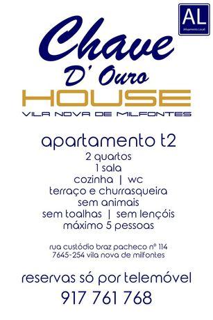 Casa de Ferias Vila Nova de Milfontes