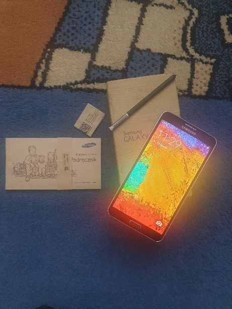Samsung Galaxy Note 3 model N9005 4/32GB kolor jet black