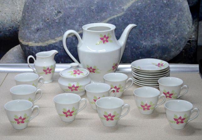 WAWEL serwis kawowy stara porcelana na 10 osób