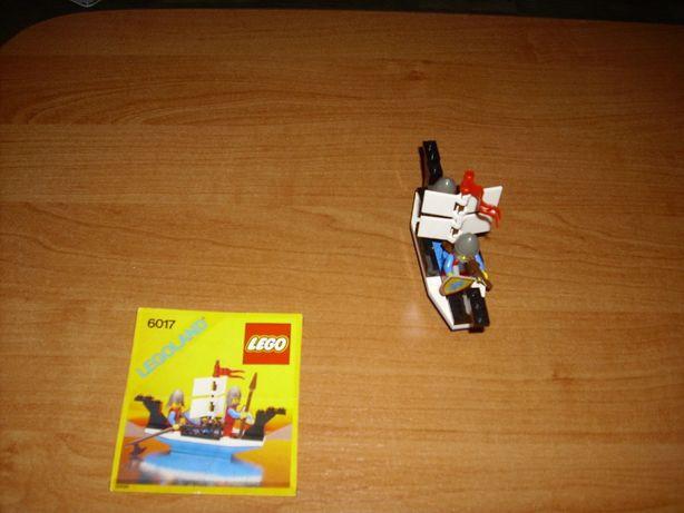 Lego kg Castle 6017 Kings Oarsmen z 1987 r. UNIKAT ! - OSTATNIA SZTUKA