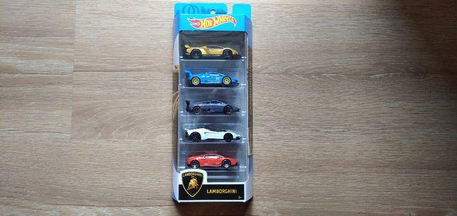 Hot Wheels 5-pak Lamborghini