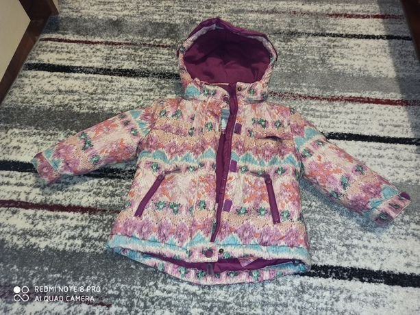 Детская зимняя термокуртка куртка mayoral ,как новая