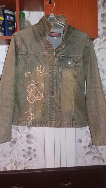 Пиджак джинсовый!