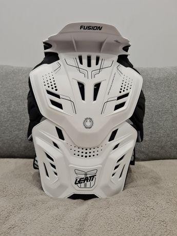 Мотозащита панцирь Leatt Fusion 3.0 white