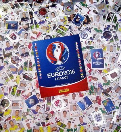 Naklejki Panini Euro 2016 ok 2000 szt i nowy ALBUM sprzedaż