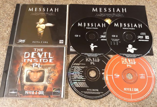 The Devil Inside PC PL + Messiah PC PL premierowe wydania