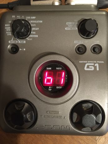Multiefekt gitarowy Zoom G1