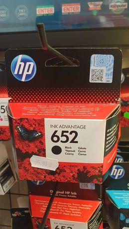 Tusz Oryginalny HP 652 Czarny SERWIS VERTES