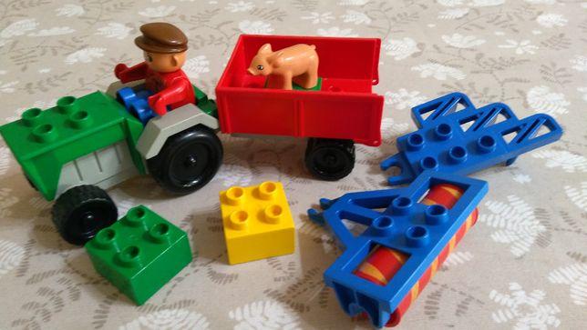 Lego Duplo Ciągnik Rolniczy 2696 – UNIKAT