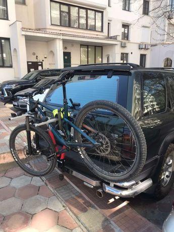 Велокрепления на шар фаркопа для 2х велосипедов