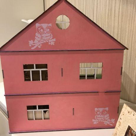 Деревянный домик, дом для кукол ЛОЛ,пупсов,маленьких кукол