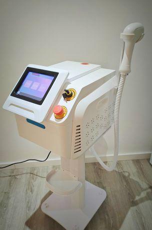 Máquina depilação laser tripla Onda Alexandrite...